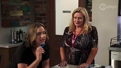 Amy Williams, Sheila Canning in Neighbours Episode 8167