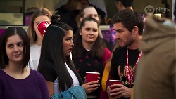 Yashvi Rebecchi, Ned Willis in Neighbours Episode 8167