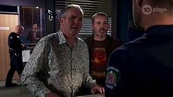 Karl Kennedy, Toadie Rebecchi, Mark Brennan in Neighbours Episode 8168