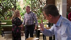 Sheila Canning, Clive Gibbons, Paul Robinson in Neighbours Episode 8168