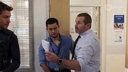 Mark Brennan, David Tanaka, Toadie Rebecchi in Neighbours Episode 8168