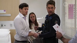 Finn Kelly, Bea Nilsson, Mark Brennan in Neighbours Episode 8168