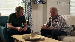 Gary Canning, Clive Gibbons in Neighbours Episode 8168