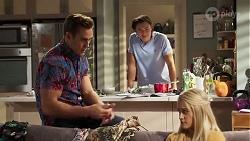 Aaron Brennan, Leo Tanaka, Roxy Willis in Neighbours Episode 8169