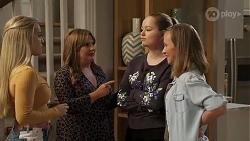 Roxy Willis, Terese Willis, Harlow Robinson, Gemma Willis in Neighbours Episode 8169