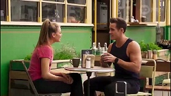 Chloe Brennan, Aaron Brennan in Neighbours Episode 8170
