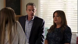Harlow Robinson, Paul Robinson, Terese Willis in Neighbours Episode 8170