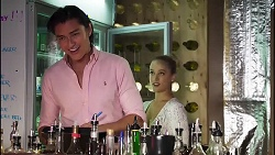 Leo Tanaka, Roxy Willis in Neighbours Episode 8170