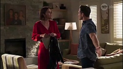 Elly Conway, Aaron Brennan in Neighbours Episode 8170