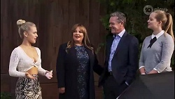 Roxy Willis, Terese Willis, Paul Robinson, Harlow Robinson in Neighbours Episode 8170