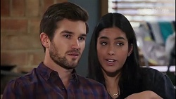 Ned Willis, Yashvi Rebecchi in Neighbours Episode 8171
