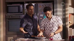 Aaron Brennan, David Tanaka in Neighbours Episode 8171