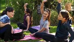 Hulya Deniz, Chloe Brennan, Elly Conway in Neighbours Episode 8172