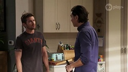 Ned Willis, Leo Tanaka in Neighbours Episode 8173