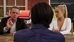Paul Robinson, Leo Tanaka, Roxy Willis in Neighbours Episode 8173