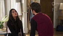 Yashvi Rebecchi, Ned Willis in Neighbours Episode 8175