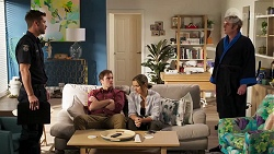 Mark Brennan, Kyle Canning, Amy Williams, Gary Canning in Neighbours Episode 8175