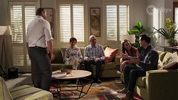Toadie Rebecchi, Susan Kennedy, Karl Kennedy, Bea Nilsson, Finn Kelly in Neighbours Episode 8176