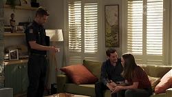 Mark Brennan, Finn Kelly, Bea Nilsson in Neighbours Episode 8176