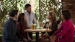 Finn Kelly, Bea Nilsson, Pierce Greyson, Chloe Brennan, Elly Conway in Neighbours Episode 8176