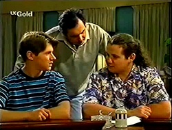 Lance Wilkinson, Karl Kennedy, Toadie Rebecchi in Neighbours Episode 2791