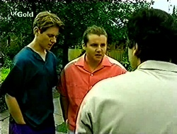 Lance Wilkinson, Toadie Rebecchi, Karl Kennedy in Neighbours Episode 2792