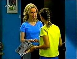 Lisa Elliot, Hannah Martin in Neighbours Episode 2792