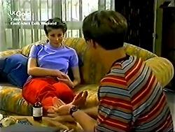 Anne Wilkinson, Billy Kennedy in Neighbours Episode 2805
