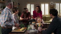 Karl Kennedy, Susan Kennedy, Bea Nilsson, Elly Conway, Finn Kelly in Neighbours Episode 8177