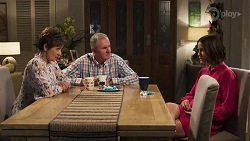 Susan Kennedy, Karl Kennedy, Elly Conway in Neighbours Episode 8177