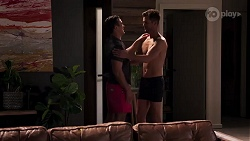 Aaron Brennan, Mark Brennan in Neighbours Episode 8177