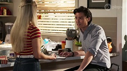 Roxy Willis, Leo Tanaka in Neighbours Episode 8178