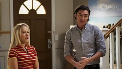 Roxy Willis, Leo Tanaka in Neighbours Episode 8179