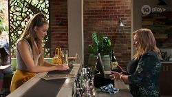 Chloe Brennan, Sheila Canning in Neighbours Episode 8179
