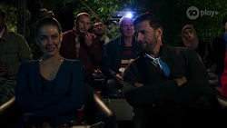 Elly Conway, Toadie Rebecchi, Karl Kennedy, Pierce Greyson in Neighbours Episode 8180