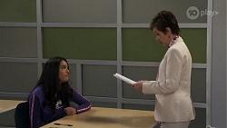 Yashvi Rebecchi, Susan Kennedy in Neighbours Episode 8180