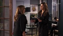 Terese Willis, Rebecca Napier in Neighbours Episode 8182