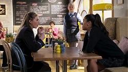Mackenzie Hargreaves, Harlow Robinson, Yashvi Rebecchi in Neighbours Episode 8182