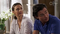 Amy Williams, Leo Tanaka in Neighbours Episode 8182