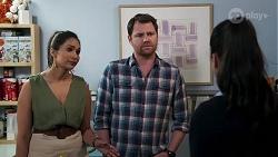 Dipi Rebecchi, Shane Rebecchi, Yashvi Rebecchi in Neighbours Episode 8182