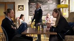 Richie Amblin, Mackenzie Hargreaves, Yashvi Rebecchi in Neighbours Episode 8183