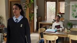 Yashvi Rebecchi, Ned Willis in Neighbours Episode 8183