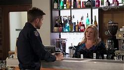 Mark Brennan, Sheila Canning in Neighbours Episode 8184