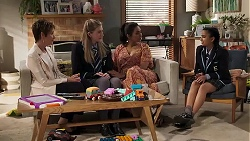 Susan Kennedy, Mackenzie Hargreaves, Dipi Rebecchi, Kirsha Rebecchi in Neighbours Episode 8184