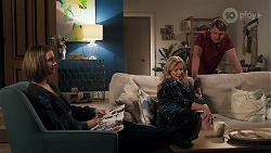 Amy Williams, Sheila Canning, Gary Canning in Neighbours Episode 8185