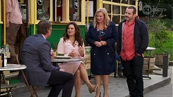 Gary Canning, Rebecca Napier, Sheila Canning, Toadie Rebecchi in Neighbours Episode 8185