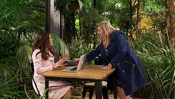 Rebecca Napier, Sheila Canning in Neighbours Episode 8186