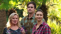 Sheila Canning, Kyle Canning, Amy Williams in Neighbours Episode 8186