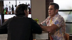 Leo Tanaka, Aaron Brennan in Neighbours Episode 8187