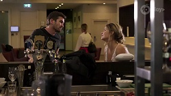Ned Willis, Scarlett Brady in Neighbours Episode 8187